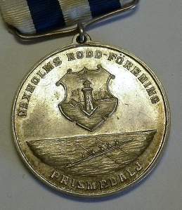 Old Swedish Rowing Medal on eBay