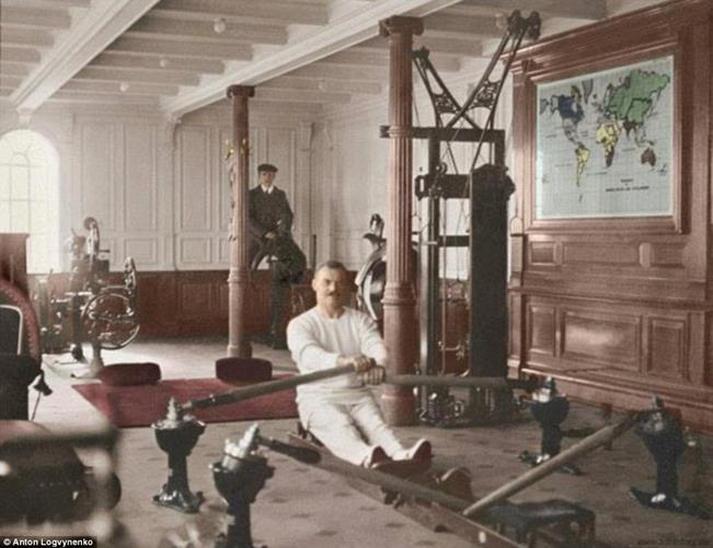 Rowing machine Titanic