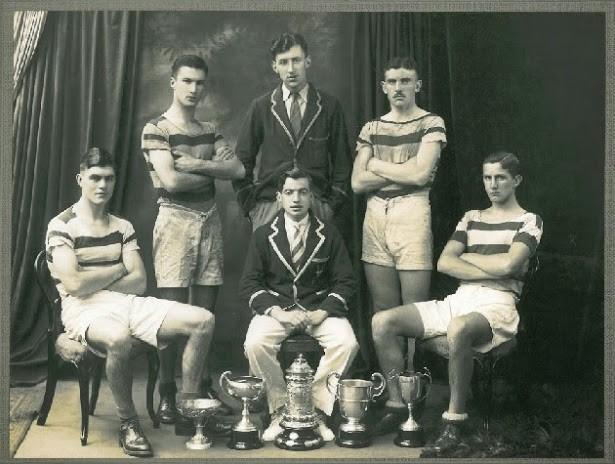 The last Dublin Rowing Club crew