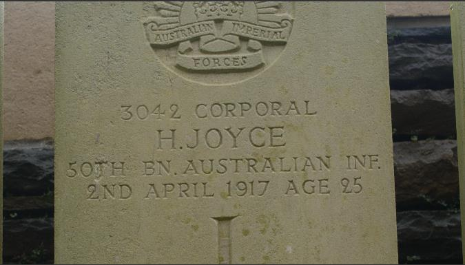 Gravestone Hedley Joyce