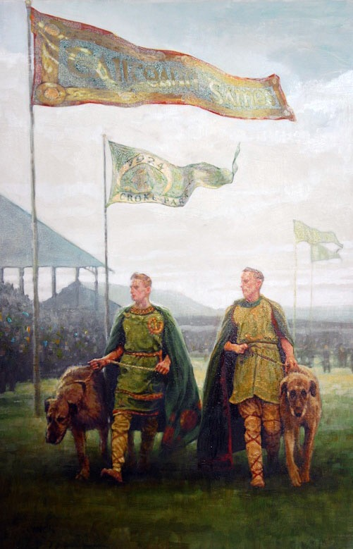 Painting of the Opening Ceremony 1924