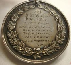 1884 medal reverse