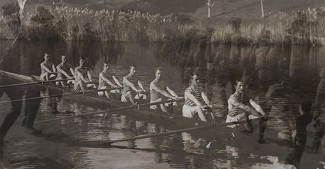 Barwon Rowing Club's Maiden Eight 1914.