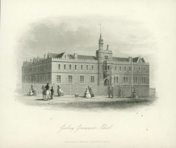 Geelong Grammar School, 1862.