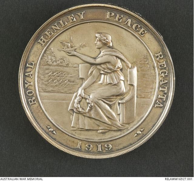 Henley Peace Regatta medal