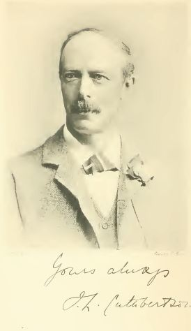 James Lister Cuthbertson, 'Cuthy', a photograph taken in 1897.