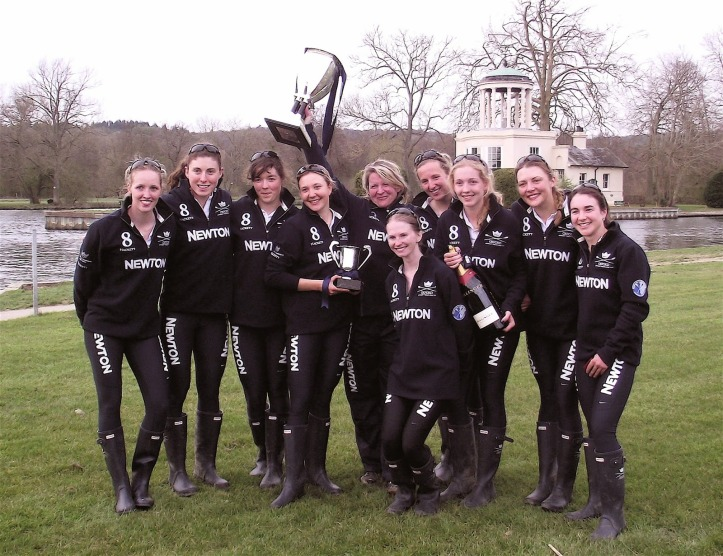 Oxford Women at Henley Boat Races 2014.