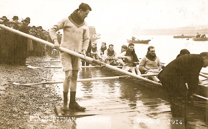 The Oxford stroke, 1914.