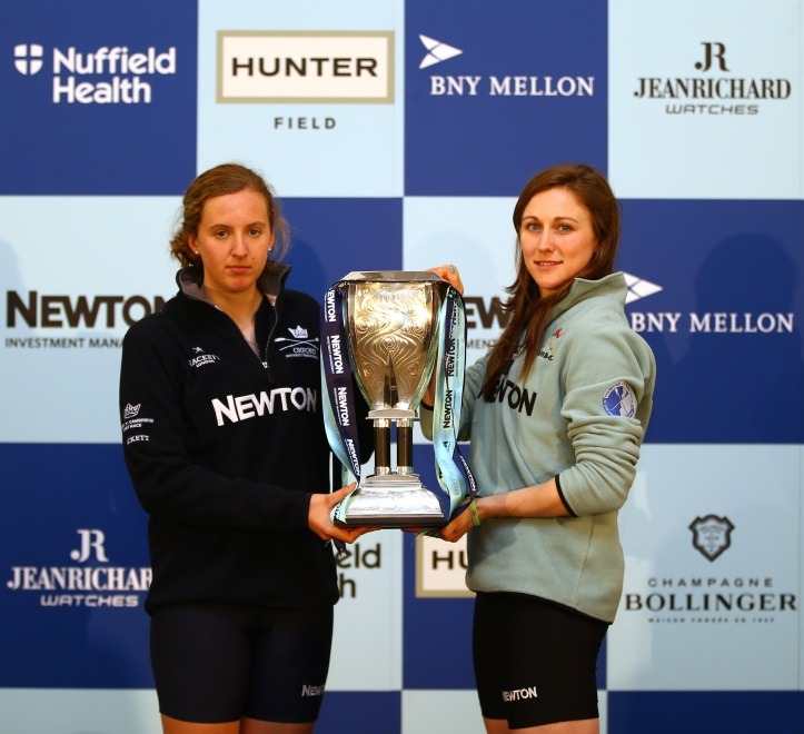 The BNY Mellon Boat Races Weigh-In and Launch