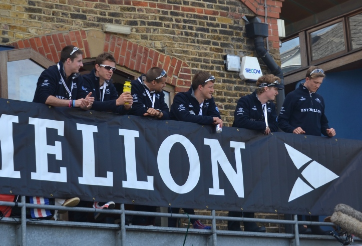 Oxford 2015 at Westminster School Boat Club.