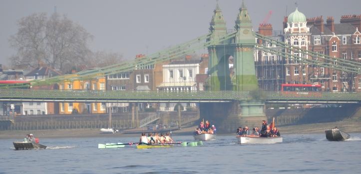 Cambridge under scrutiny at Hammersmith.