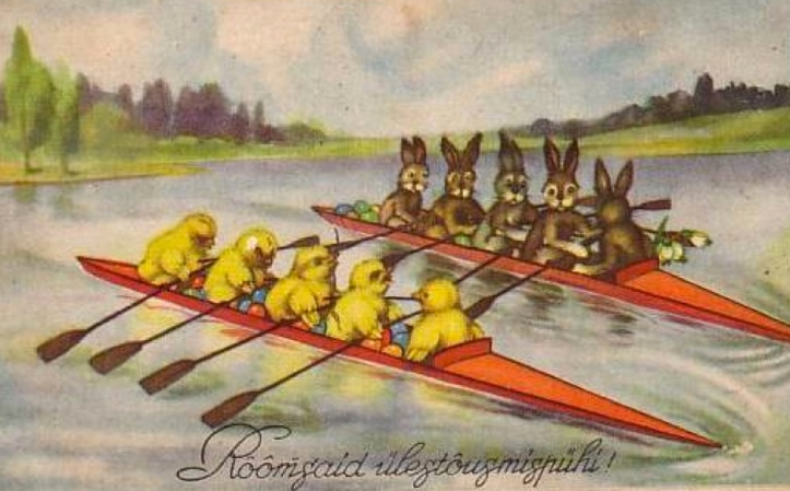 Rowing easter