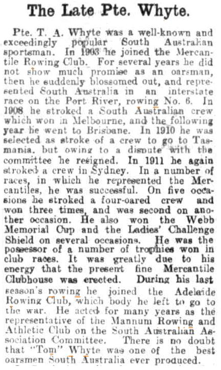 Observer (Adelaide) – Saturday 8 May 1915, page 39.