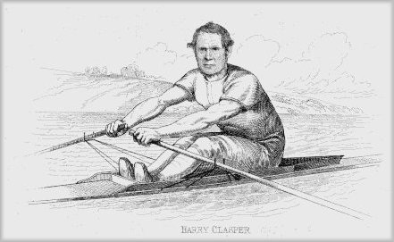 Famous oarsman and boat builder Harry Clasper.