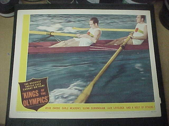 "Lobby Card (11"" x 14"") for Kings of the Olympics (1948)."