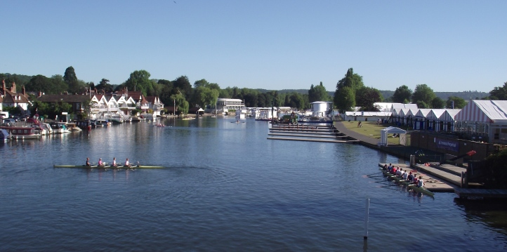 Henley on Tuesday, 30 June – one day to go, all is ready.