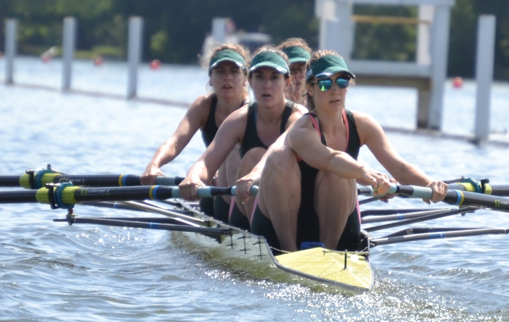 Pic 14. Club coxed fours, Auriol Kensington 'A'.