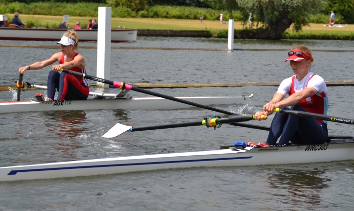 Pic 4  E.Lwt.1x Wallingford RC - Stubbs bt  Agecroft - Lewis NTT 3L (pictured after the race).