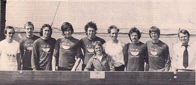 Bob's Boys in 1975: Lester, Matheson, Clark, Yallop, Aylings, Sweeney, Crooks, Robertson, Manson, and Janousek.