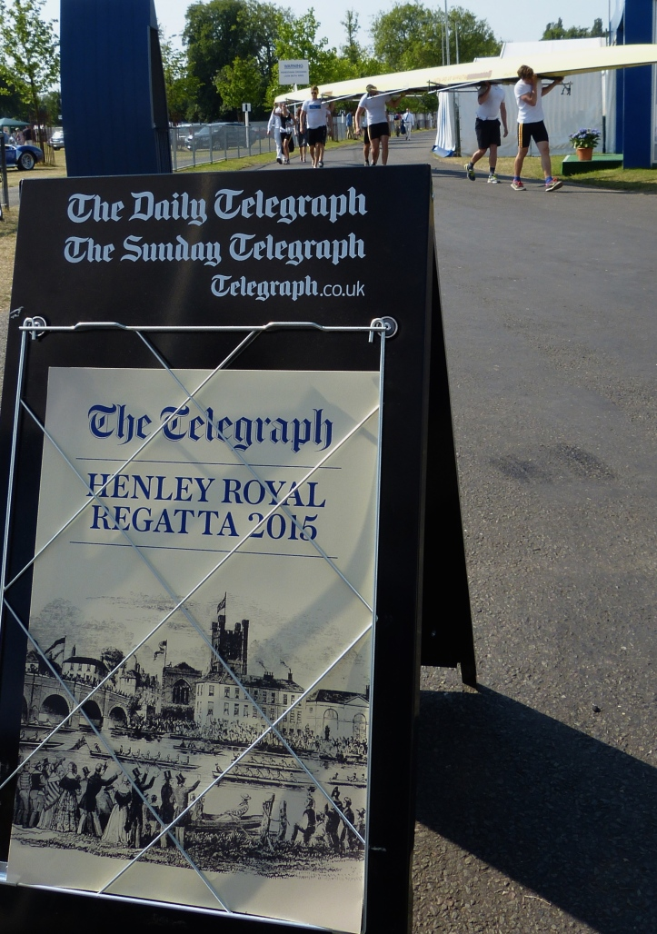 Pic 1. The Regatta begins. The official highlights programme on the first day is on the HRR YouTube Channel. https://www.youtube.com/user/HenleyRoyalRegatta?mc_cid=bc13756e44&mc_eid=e6e1b70094
