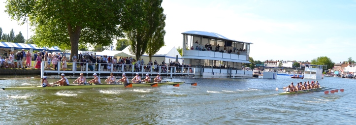 Pic 10. Leander beating Princeton 'B' in a heat of the Ladies'.
