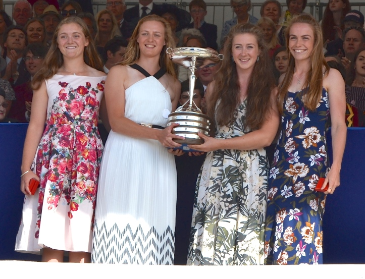 Pic 17. The four also won at Women's Henley.