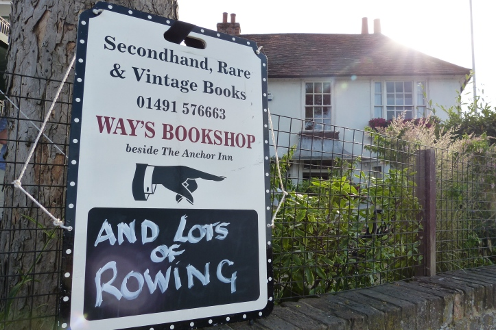 Pic 19. The rowers' other Henley Mecca, Richard Way's Bookshop in Friday Street.