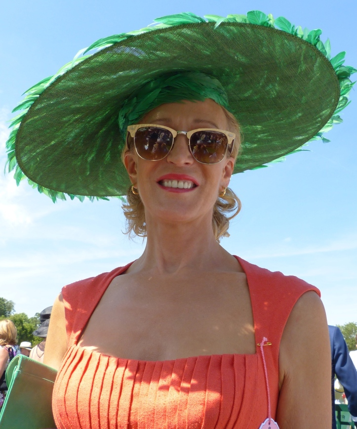 Pic 19. Jane, the epitome of Henley glamour and elegance.
