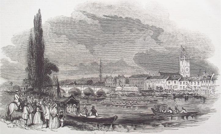 Pic 2. Henley Royal Regatta, 1844.