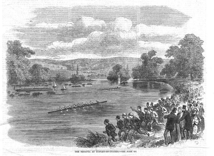 Pic 6. Eights race, 1869.