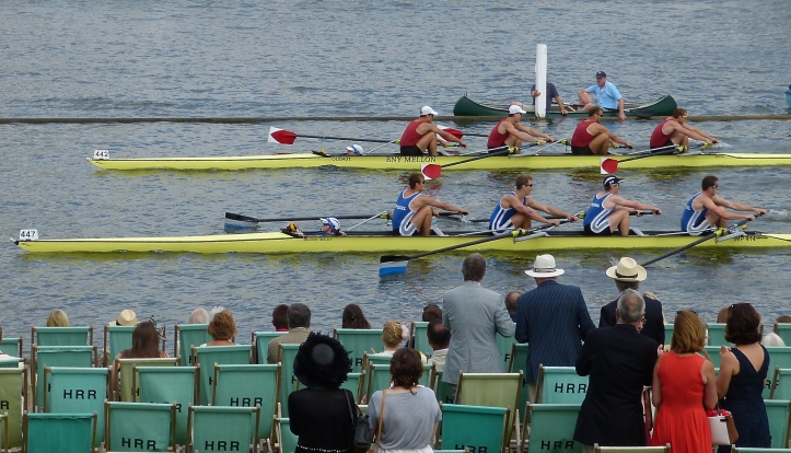 Harvard down on Imperial in a heat of the Prince Albert. They went onto win by half a length.