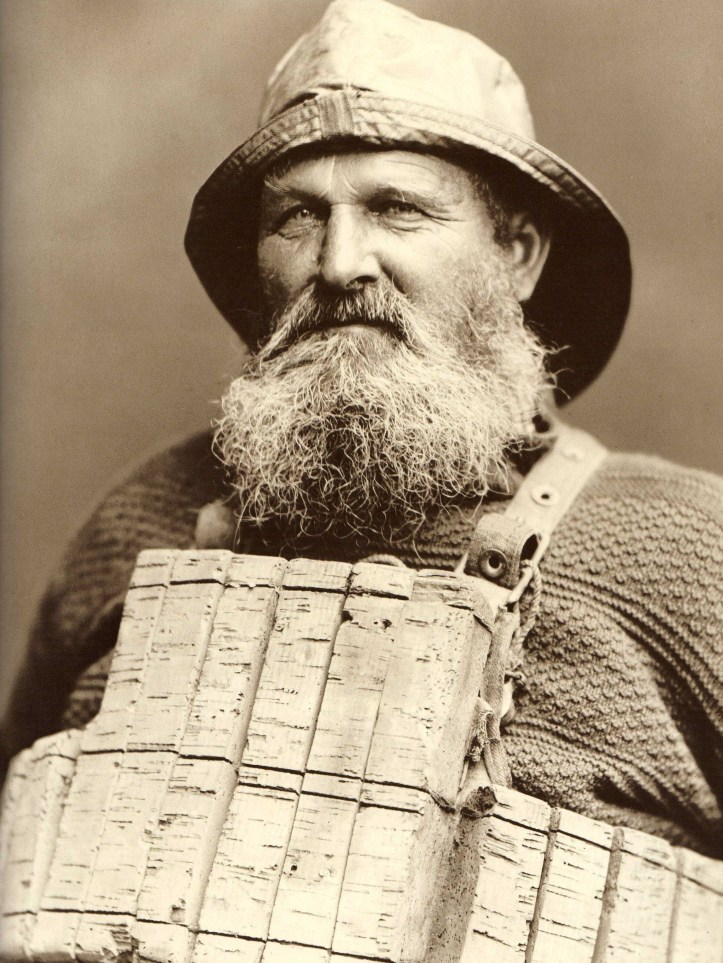 Pic 11. This splendid picture is of Henry Freeman, http://www.scarboroughsmaritimeheritage.org.uk/ahenryfreeman.php the sole survivor of the Whitby lifeboat disaster of 1861.