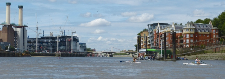 Pic 16. In Battersea Reach.