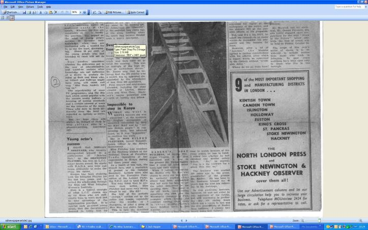 The 1956 christening of the A J Kirk one of the 6 scullers of which the Holland Martin was part.