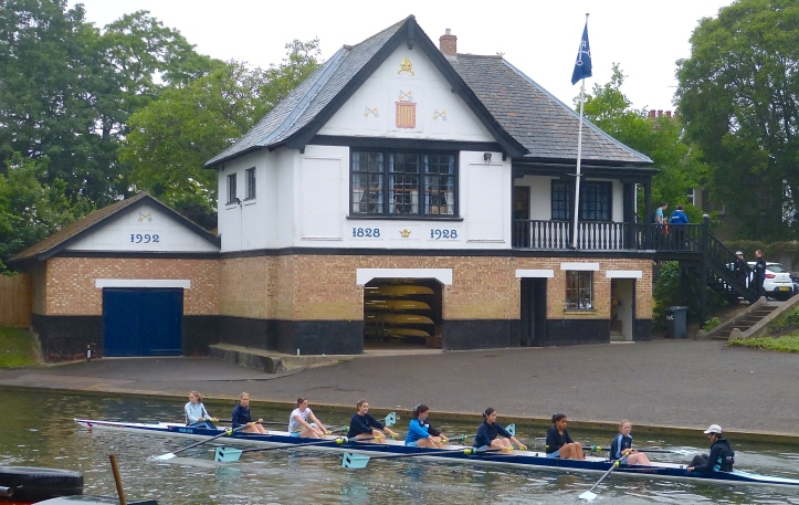 Pic 20. Peterhouse's 1928 boathouse replaced a previous Victorian building.