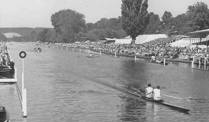 Pic 3. Norton and Scurfield beat M. Beresford and C. Porter of London Rowing Club, easily in the final.