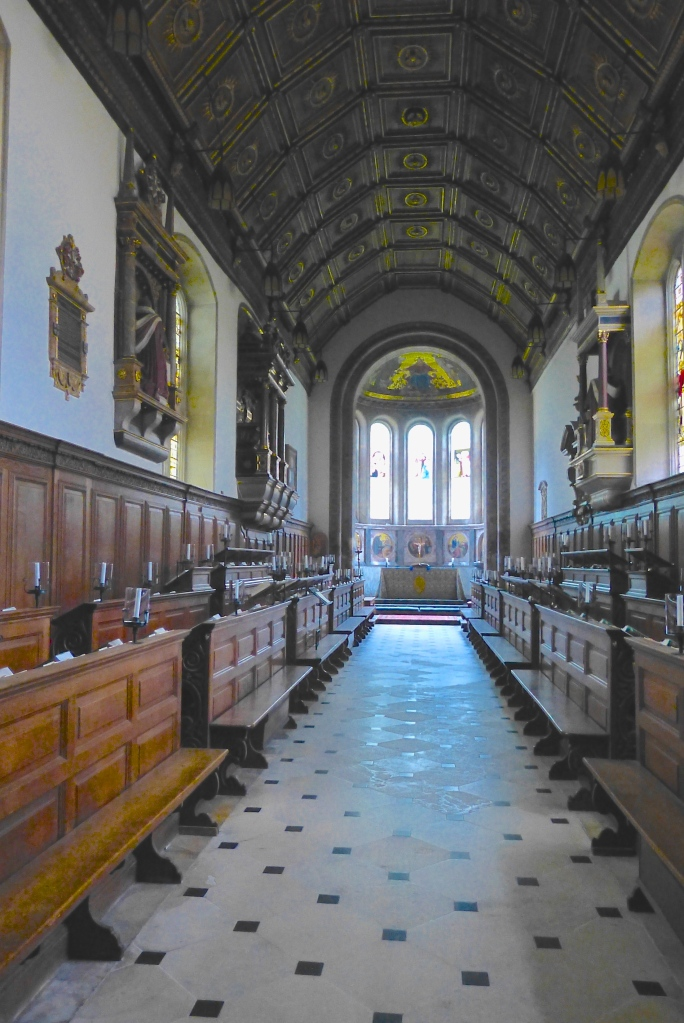 Pic 5. The college chapel of 1353. It is the oldest continuously used chapel at either Cambridge or Oxford.