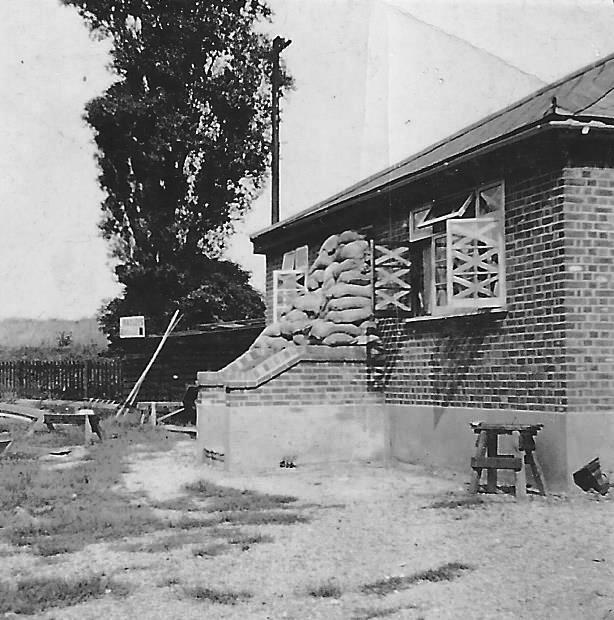 Radleys Springhill Bungalow during Wartime.