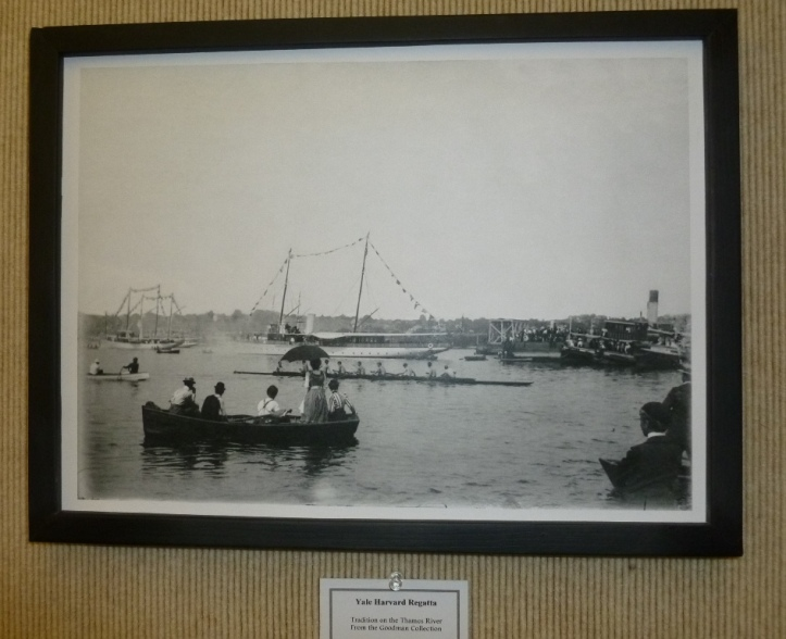 The Yale-Harvard Regatta, from the Goodman Collection, the Indian & Colonial Research Center.