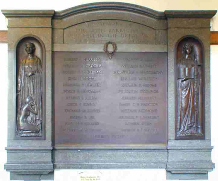Barristers' Memorial, Four Courts, Inns Quay, Dublin.