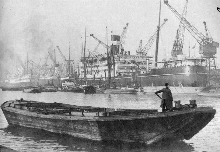 Pic 5 The barge 'America' (Michael Wenban).