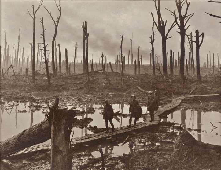 Pic 5. Passchendaele (The Third Battle of Ypres).