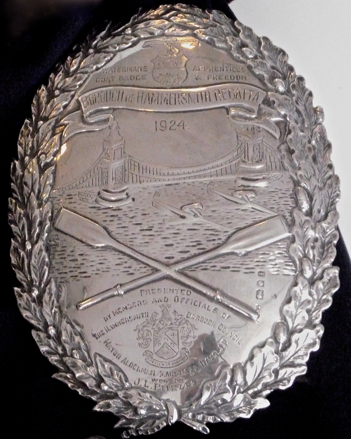 Pic 6. The Hammersmith Badge.