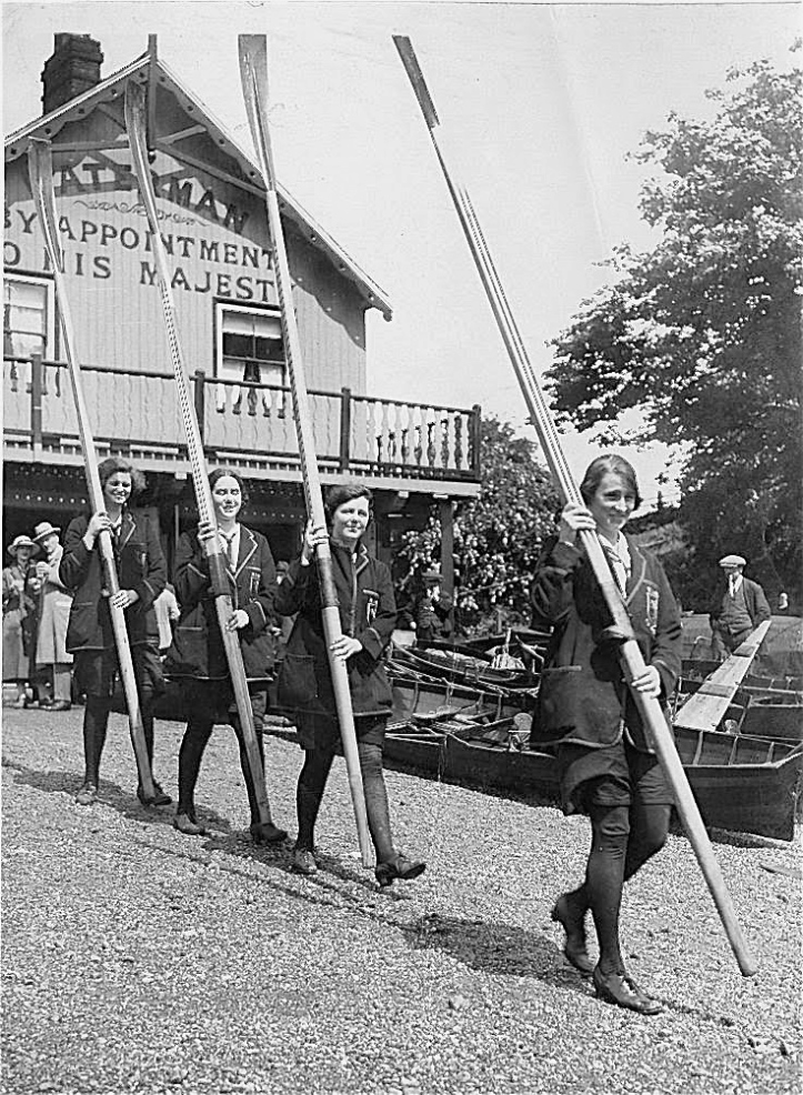 Pic 7. Women at Tom Green's in the 1930s. Picture: River and Rowing Museum.