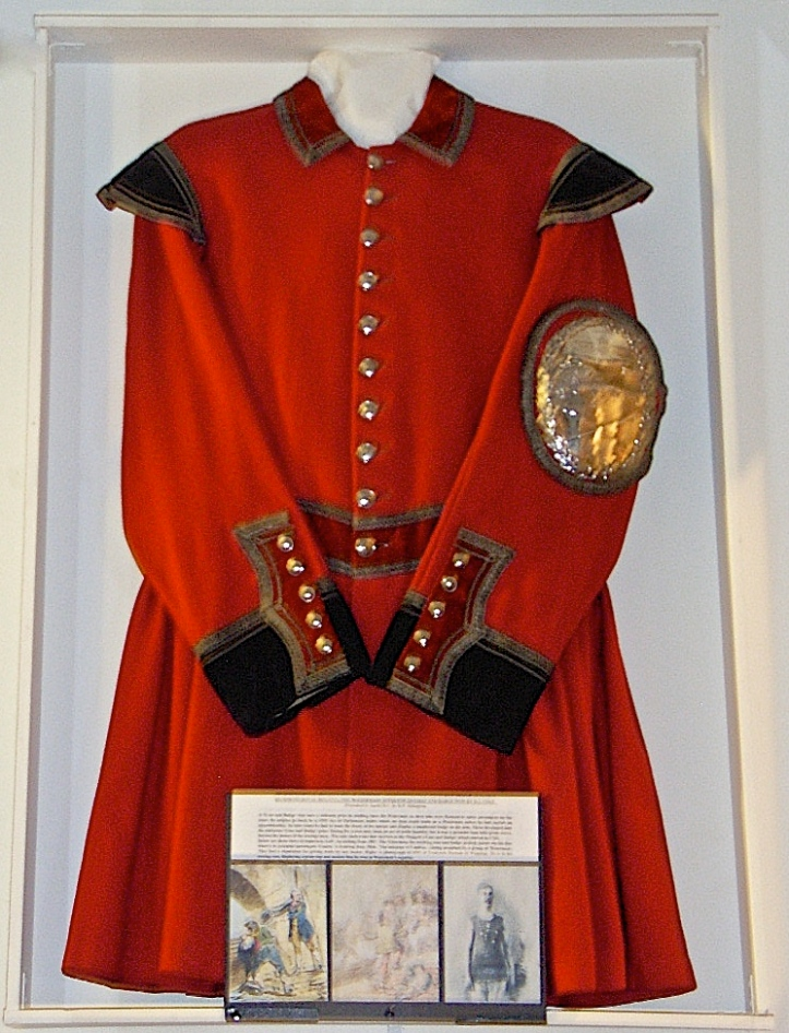 Pic 7. The Richmond Royal Regatta Coat and Badge won by Harry John Cole of Isleworth in 1921.