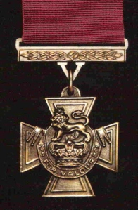 Pic 9. The Victoria Cross. Since 1856, 1,355 have been awarded for '... most conspicuous bravery, or some daring or pre-eminent act of valour or self-sacrifice, or extreme devotion to duty in the presence of the enemy'.