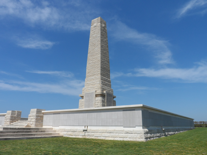 The Helles Memorial. Photo: Commonwealth War Graves Commission.