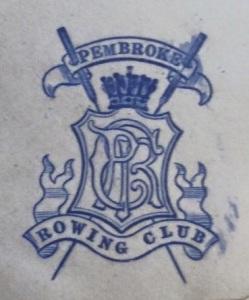 Embossed Crests - blue