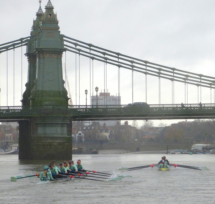 Pic 4. At Hammersmith, Twickenham continue to pull away.
