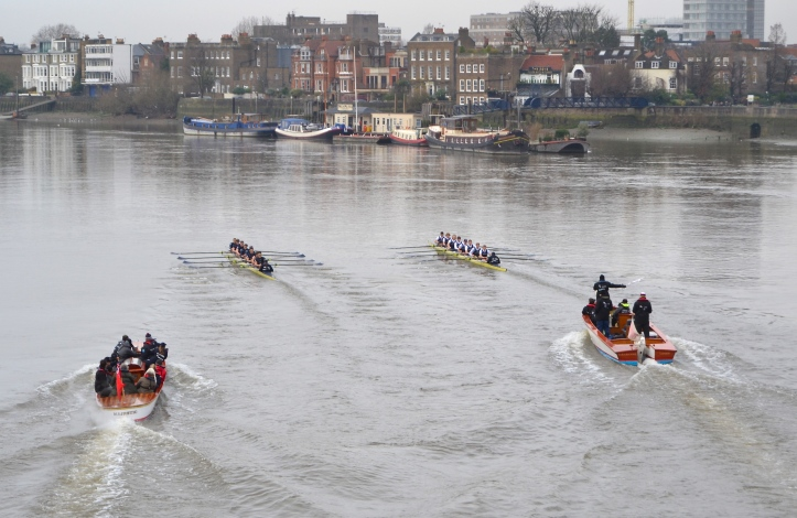 Pic 6. Approaching Hammersmith Pier.